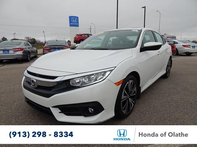 certified pre owned 2016 honda civic sedan ex t in olathe h038556a honda of olathe. Black Bedroom Furniture Sets. Home Design Ideas